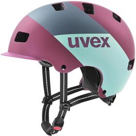 UVEX hlmt 5 Bike Pro Helm berry matt